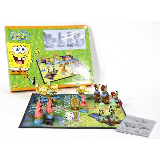 Spongebob Mens erger je niet spel