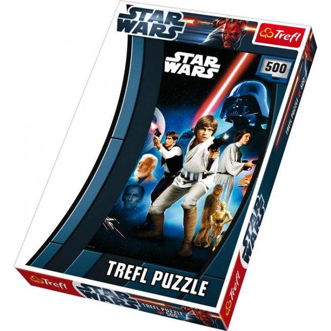Star Wars foto puzzels 500 delen