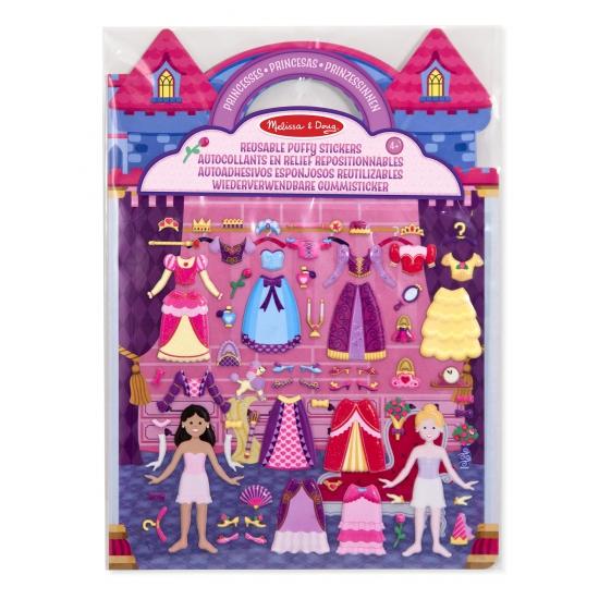 Stickerboek voor meiden prinses thema