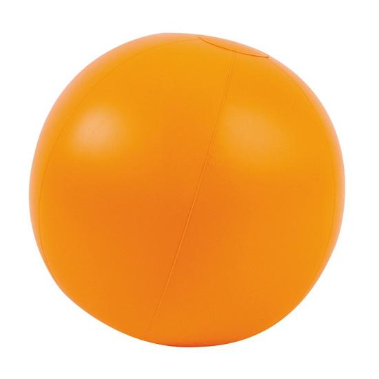 Strandbal oranje opblaasbaar