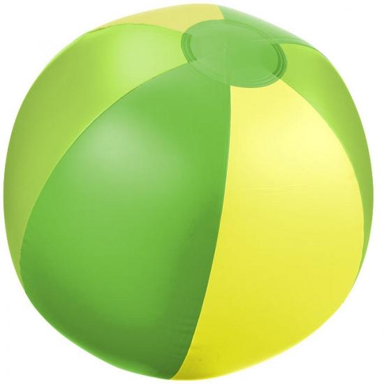 Strandballen groen met geel