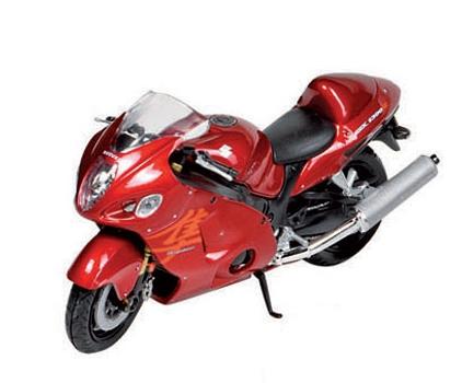 Suzuki motors 1:18 rood