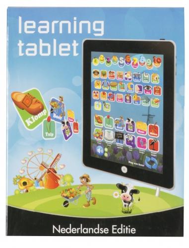 Tablet met geluid en spelletjes