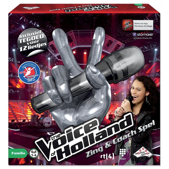 The Voice Of Holland zing en coach spel