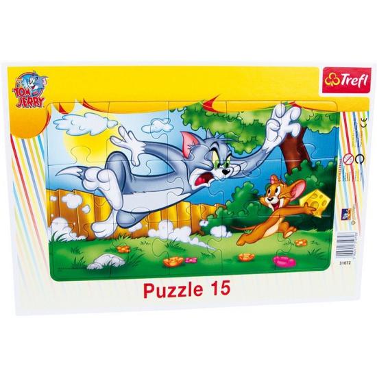 Tom en Jerry puzzel voor kinderen