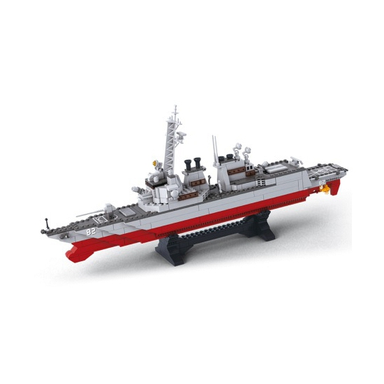 Torpedobootjager bouw blokjes