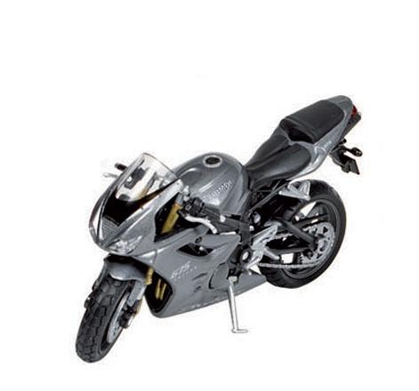 Triumph speelgoed zilveren motor