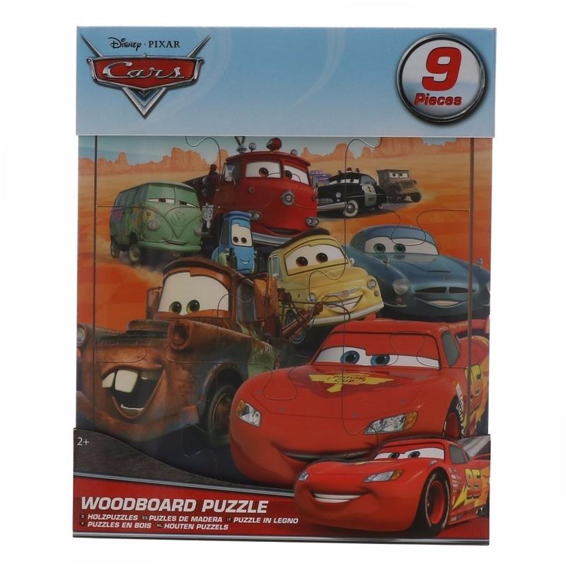 Uitdeel speelgoed Cars puzzels 9x