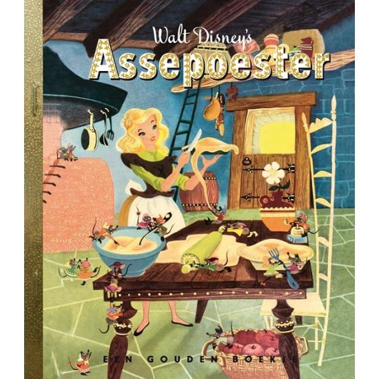 Verhalen boek Assepoester