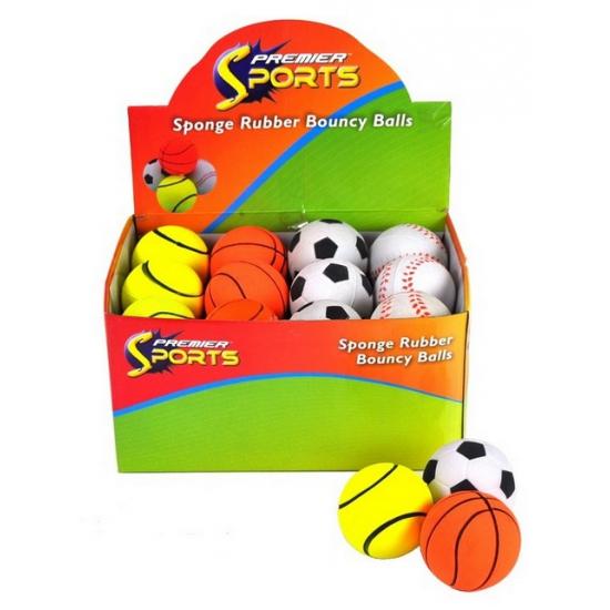Voetbal stuiterbal 5 cm