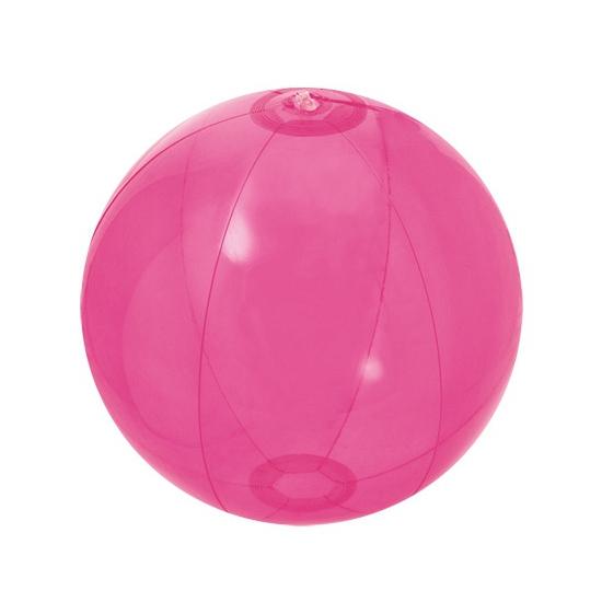 Voordelige strandbal roze