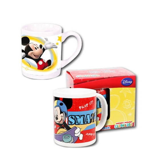 Witte Disney Mickey Mouse mok 230 ml