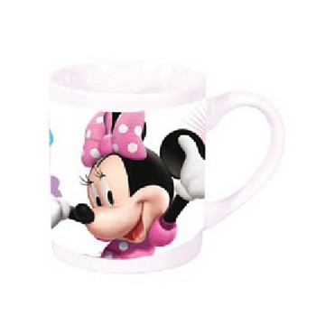 Witte Disney Minnie mok 230 ml