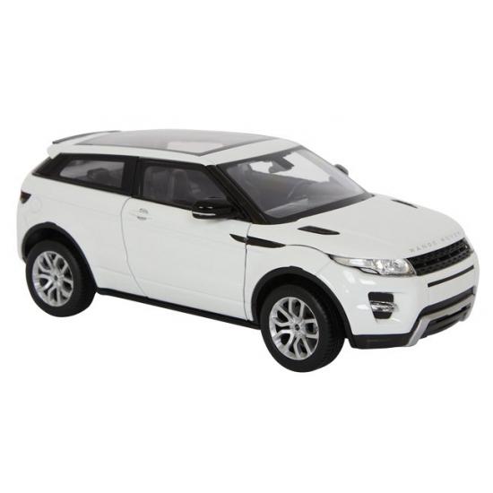 Witte Land Rover Evoque schaalmodel