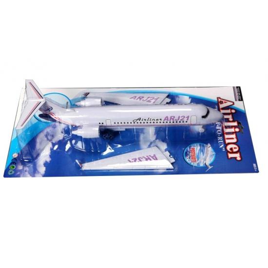 Witte vliegtuigjes 53 cm