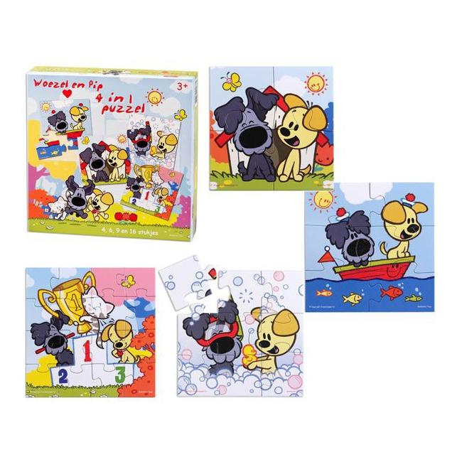 Woezel en Pip puzzels voor kinderen