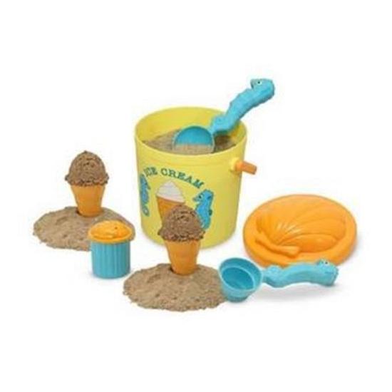 Zand speelgoed ijs setje