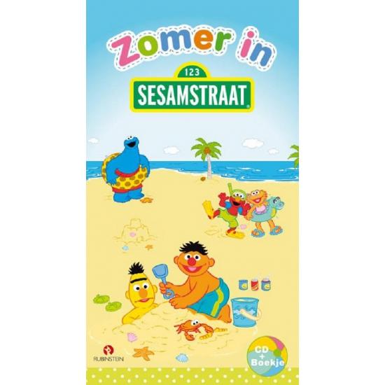 Zomer in Sesamstraat boek met cd