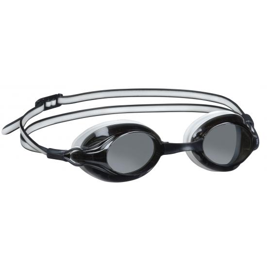 Zwart witte zwembril voor volwassenen