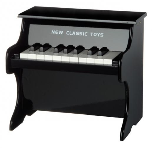 Zwarte pianos voor kinderen