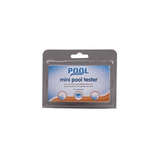 Zwembad onderhoudsmiddel test tabletten