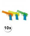 10 gekleurde water pistolen