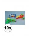 10 voordelig waterpistooltjes gekleurd