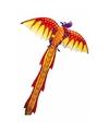 3d draken vlieger gekleurd