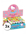 3x hello kitty bellenblaas