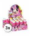 3x minnie mouse bellenblaas