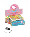 6x hello kitty bellenblaas