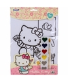 A4 schilderset hello kitty