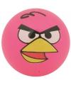 Angry birds stuiterbal roze