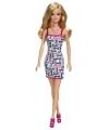 Barbie starterspop met wit jurkje