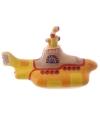 Beatles fan spaarpot yellow submarine 23 cm