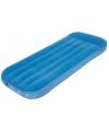 Blauw luchtbedje voor kinderen