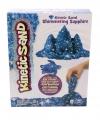 Blauw magisch zand met glitters 454 gram