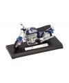 Blauwe bmw shadow speelgoed motor 11 cm