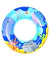 Blauwe opblaasbare zwemband zeedieren thema 51 cm