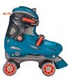 Blauwe verstelbare rolschaatsen maat 27 30