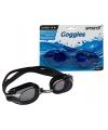 Blauwe zwembril met latex hoofdband