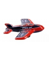 Blikken vliegtuigje space jet 11 cm