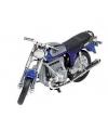 Bmw oldtimer r75 speelgoed motor blauw 11 cm
