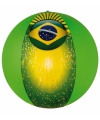 Brazilie strandbal 50 cm