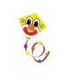 Clown vlieger gekleurd