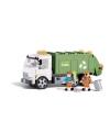 Cobi vuilniswagen bouwstenen set