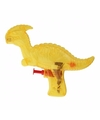 Dinosaurus waterpistool geel