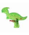 Dinosaurus waterpistool groen