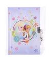 Disney frozen dagboek met slot lila paars