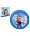 Disney frozen wandklok blauw